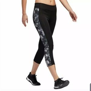 Adidas Climalite 3/4 Length Printed Tights